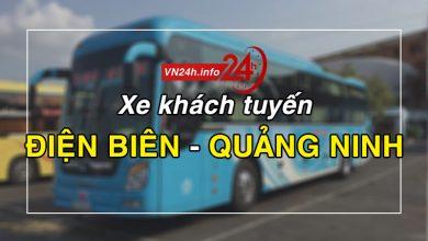 Photo of Xe khách tuyến Điện Biên – Quảng Ninh