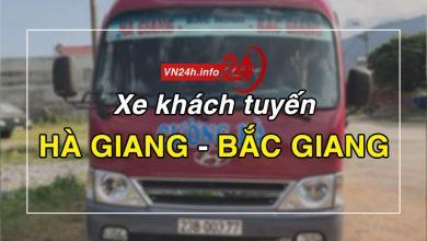 Photo of Xe khách tuyến Hà Giang – Bắc Giang