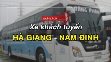 Photo of Xe khách tuyến Hà Giang – Nam Định
