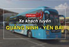 Xe khách tuyến Quảng Ninh - Yên Bái
