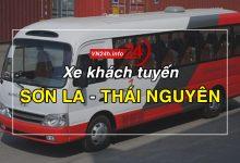 Xe khách tuyến Sơn La – Thái Nguyên