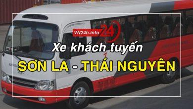 Photo of Xe khách tuyến Sơn La – Thái Nguyên