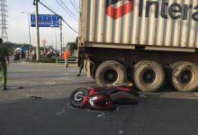 Photo of Cháu trai hoảng loạn khi dì bị container cán t.ử vong trên đường ra bến xe về quê nghỉ lễ