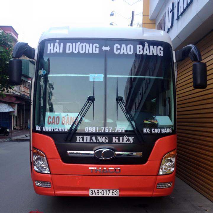 Nhà xe Khang Kiên (Ninh Giang, Hải Dương - Cao Bằng)