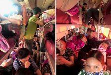 Photo of Nhồi nhét trên xe khách đến ngạt thở, người dân nhắn tin 'cầu cứu' CSGT
