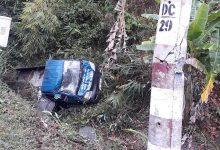 Photo of Xe tải lao xuống vực trên đèo Chuối, tài xế nhập viện cấp cứu