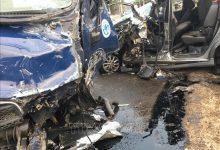 Photo of Xe tải chở vịt tông xe 7 chỗ, 4 người bị thương