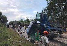 Photo of Tai nạn liên hoàn khiến 4 xe nát bét tại đường tránh Nam Hải Vân, giao thông tê liệt nhiều giờ