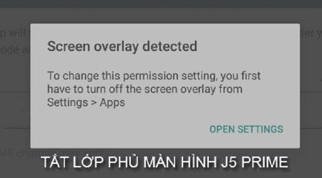 Bạn nên tắt lớp phủ màn hình trên thiết bị của mình để nó có thể hoạt động tốt hơn