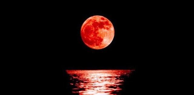 Mặt Trăng máu là một hiện tượng Nguyệt Thực hiếm gặp