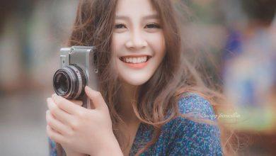 """Photo of """"Yêu ngay từ cái nhìn đầu tiên"""" với nụ cười tỏa nắng của cựu nữ sinh Chuyên Hùng Vương, Phú Thọ"""