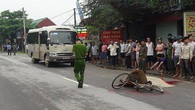 Photo of Phú Thọ: Xe khách lấn làn tông cụ ông đi xe đạp t.ử vong