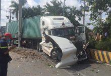 Photo of Vụ container tông bẹp ô tô 4 chỗ ở Tây Ninh: Số nạn nhân tử vong tăng lên 5 người