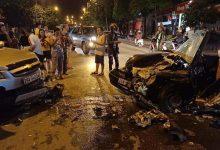 Photo of VIDEO: Hai ô tô đâm nhau trực diện khiến 4 người bị thương ở Sơn La