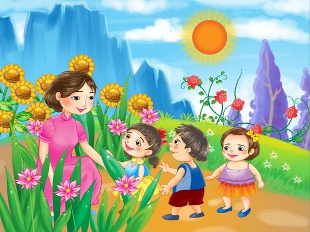 Giáo dục nhân cách cho trẻ mầm non là điều rất quan trọng trong sự phát triển của trẻ ở tương lai