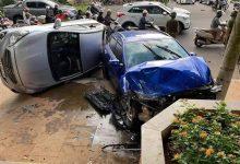 """Photo of """"Xe điên"""" tông liên hoàn nhiều phương tiện đang dừng đèn đỏ"""