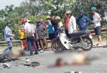 Photo of Điều khiển xe máy đấu đầu xe tải, 2 nam thanh niên chết thảm