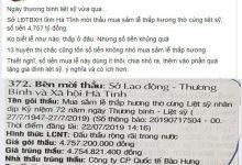 Photo of Sốc: Gói thầu Lễ thắp hương Liệt sỹ ngày 27/7 gần 5 tỷ đồng