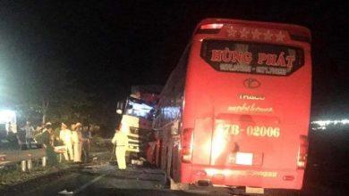 Photo of Xe khách đối đầu xe tải ở đường tránh tử thần, 1 tài xế tử vong, nhiều hành khách bị thương