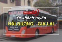 Photo of Xe khách tuyến Hải Dương – Gia Lai