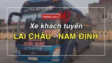 Photo of Xe khách tuyến Lai Châu – Nam Định