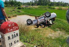 Photo of Ô tô lao xuống hố nước, tài xế tử vong tại chỗ, 5 người khác bị thương