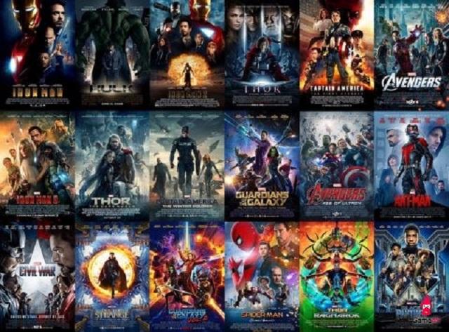 Vũ trụ điện ảnh Marvel trong 11 năm đã có đến 22 phim