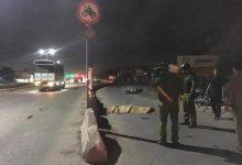 Photo of Hai thượng úy cảnh sát cơ động tử vong do tông dải phân cách trên đường