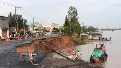 Photo of Quốc lộ 91 sụp xuống sông, An Giang ban bố tình huống khẩn cấp
