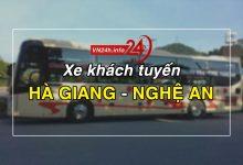 Photo of Xe khách tuyến Hà Giang – Vinh, Nghệ An