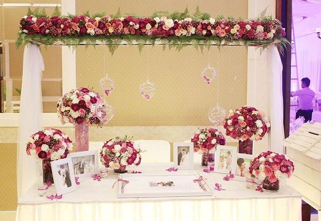 Lễ đính hôn của người miền Nam ưa chuộng trang trí không gian theo phong cách phương Tây