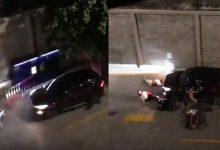 Photo of VIDEO: Thanh niên lái ô tô tông 2 người bất tỉnh tại quận 4, TP.HCM