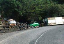 Photo of Tai nạn lật xe trên đèo Bảo Lộc, sau 10 giờ chưa giải phóng xong hiện trường
