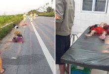 Photo of Bố uống rượu tự gây tai nạn giao thông, mẹ và 2 con tử vong
