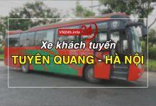 Photo of Xe khách tuyến Tuyên Quang – Hà Nội