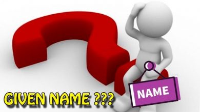 Photo of First name, Last name, Full name, Given name là gì?