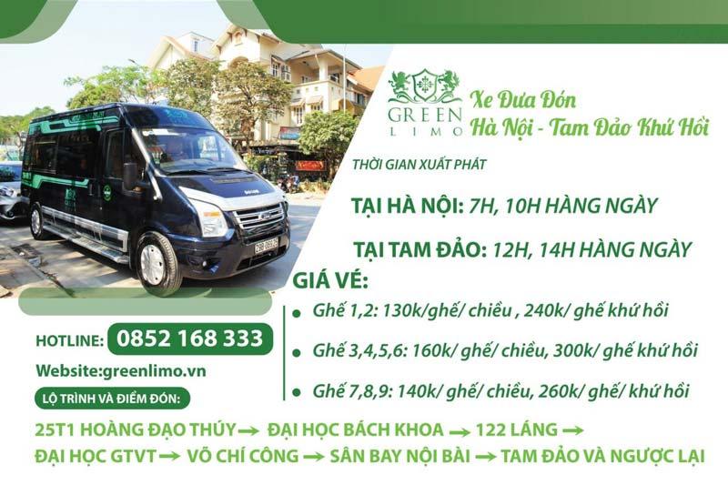 Green Limo - VIP Limousine Hà Nội – Tam Đảo