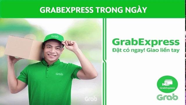 GrabExpress là đơn vị vận chuyển giao hàng của hãng xe ôm công nghệ Grab