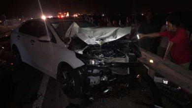 Photo of Đâm trực diện ô tô đi ngược chiều, 3 người trong gia đình thiệt mạng