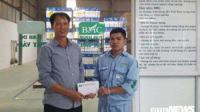 Photo of Tài xế container được trả lại 12 triệu đồng tiền đền bù thừa: 'Xã hội còn nhiều điều tốt đẹp'