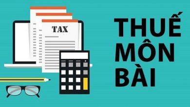 Photo of Thuế môn bài là gì? Thời gian quy định nộp lệ phí môn bài