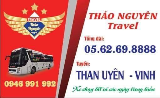 Nhà xe Thảo Nguyên (Than Uyên - Vinh - Nghệ An)