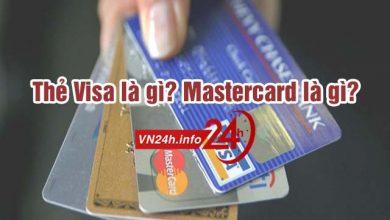 Photo of Thẻ Visa là gì? Mastercard là gì?