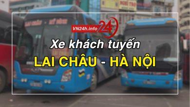 Photo of Xe khách tuyến Lai Châu – Hà Nội