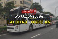 Xe khách tuyXe khách tuyến Lai Châu – Vinh - Nghệ Anến Lai Châu – Vinh - Nghệ An