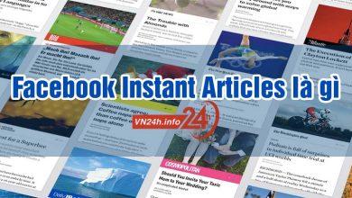 Facebook Instant Articles là gì?