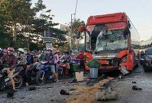 Photo of Xe khách Phương Trang húc đuôi nhà xe khác khiến 5 người bị thương