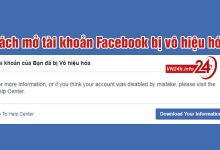 Photo of Cách lấy lại tài khoản Facebook bị vô hiệu hóa nhanh nhất