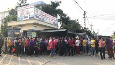 Photo of Vĩnh Phúc: Chê thưởng Tết thấp, hơn 3.000 công nhân ngừng việc tập thể