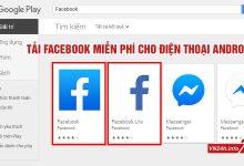Tải Facebook miễn phí trên điện thoại